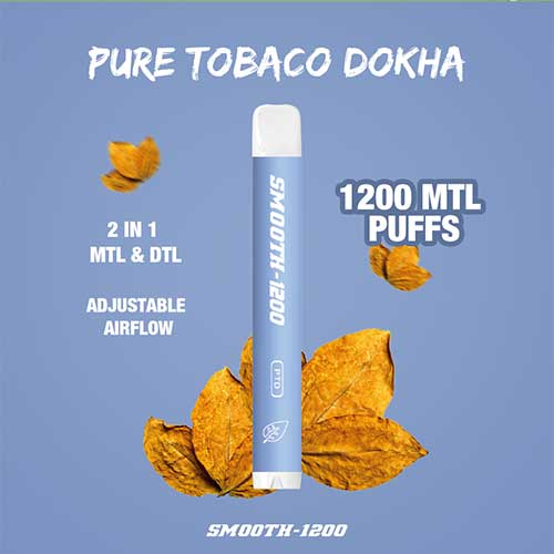 Smooth-1200-Pure-Tobacco