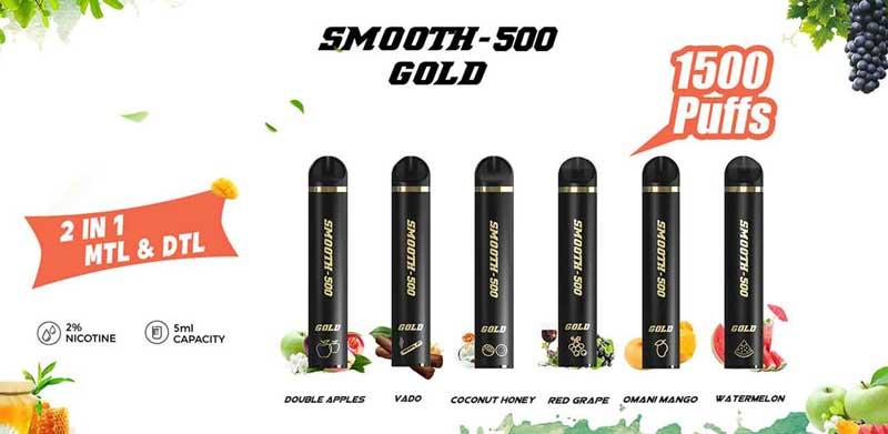 Smooth-1500-Gold-Disposable-vape-pen